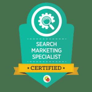 DigitalMarketer Search Marketing Specialist