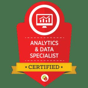DigitalMarketer Analytics and Data Certification