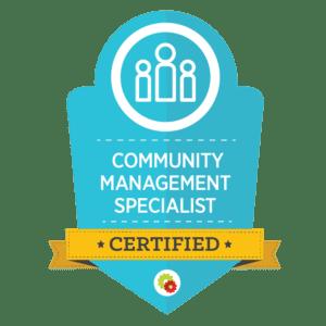 DigitalMarketer Community Manager Badge