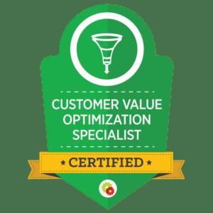 DigitalMarketer Customer Value Optimization Certification